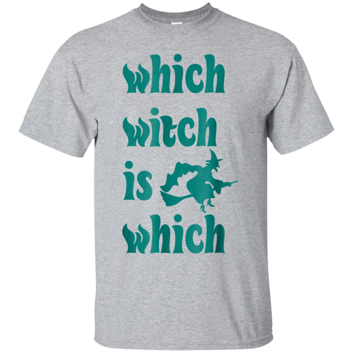 Which Witch Is Which Not Just For Halloween Novelty T-Shirt 99promocode