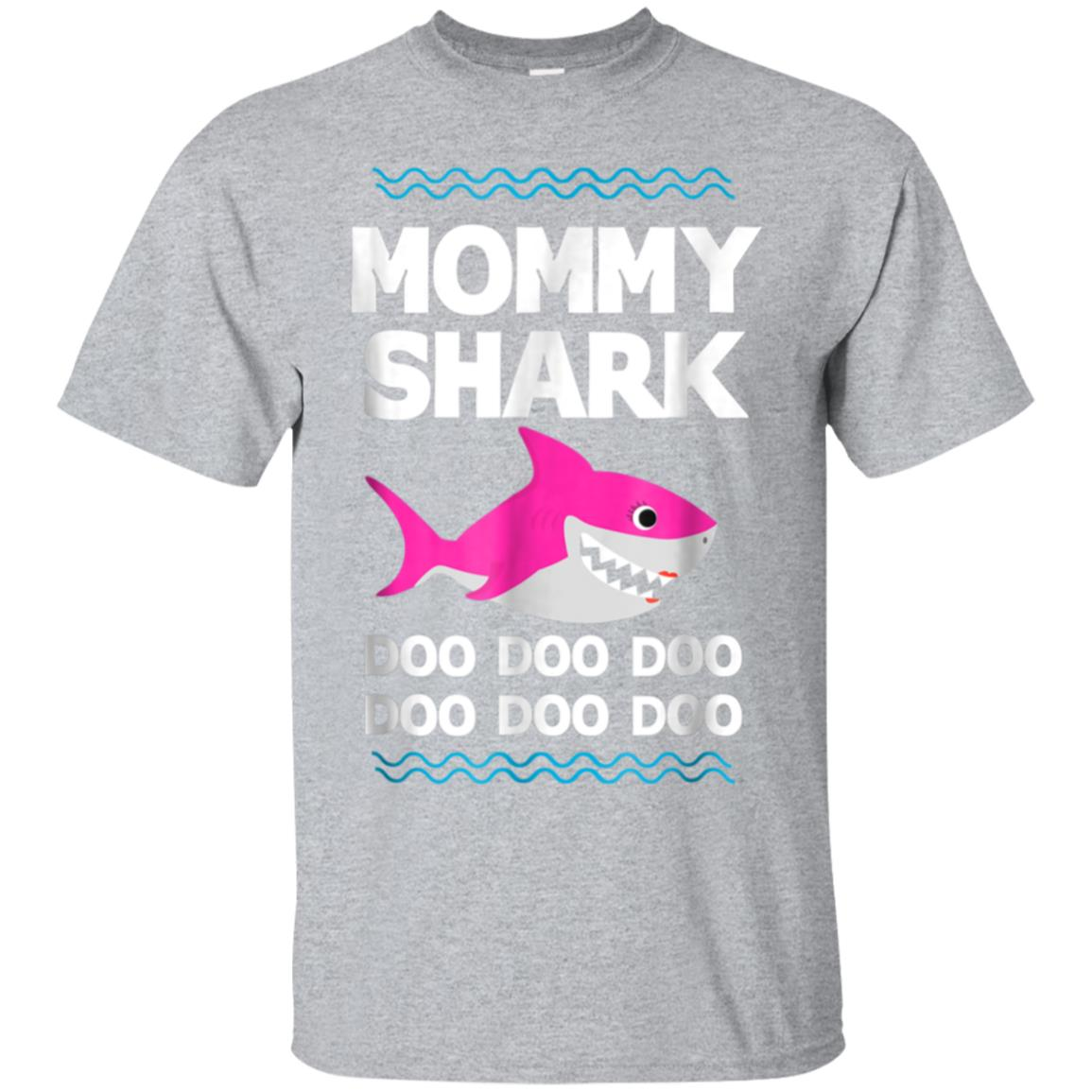 Mommy Shark Doo Doo T-Shirt Funny Kids Video Baby Daddy 99promocode