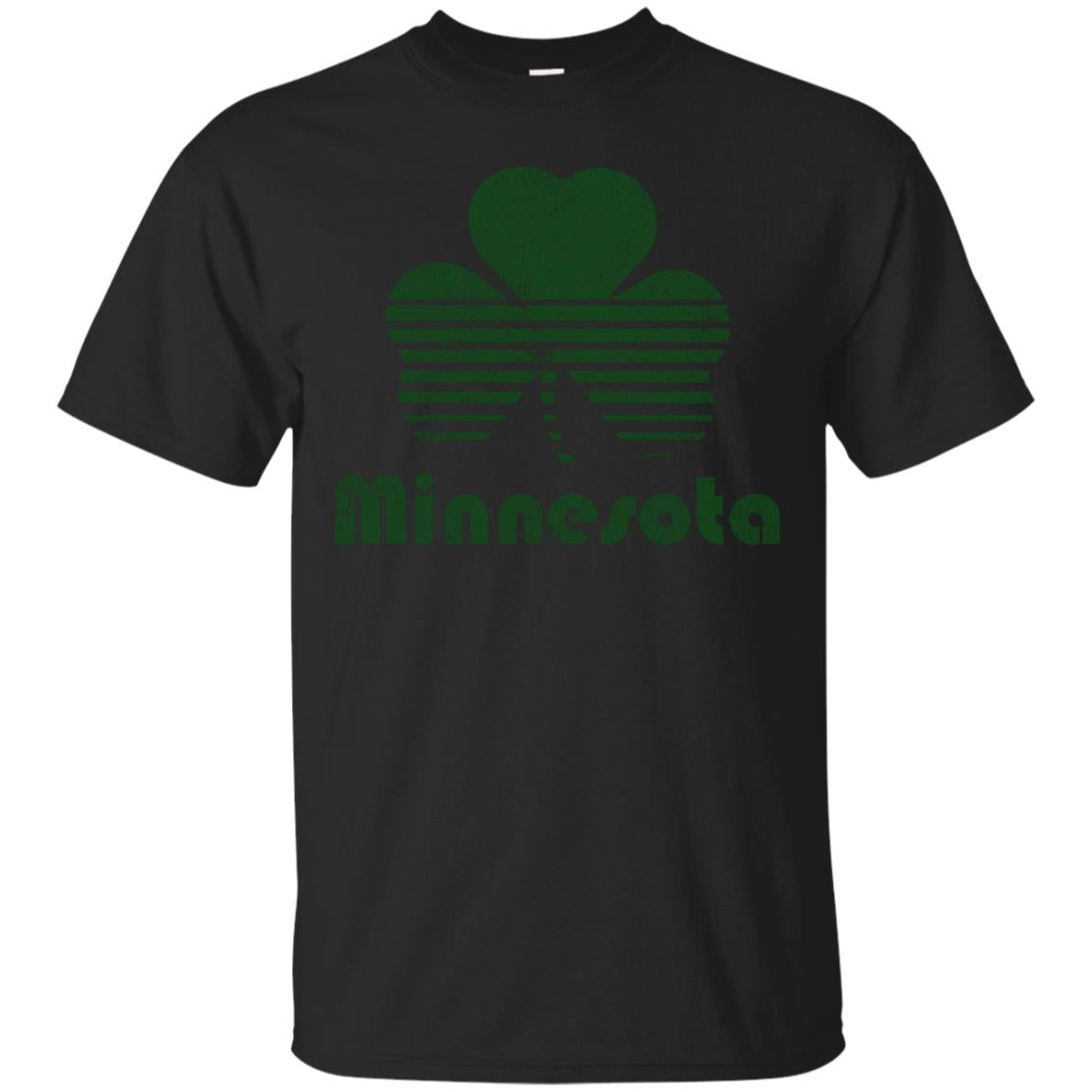 Minnesota St Patricks Day Retro T-Shirt 99promocode