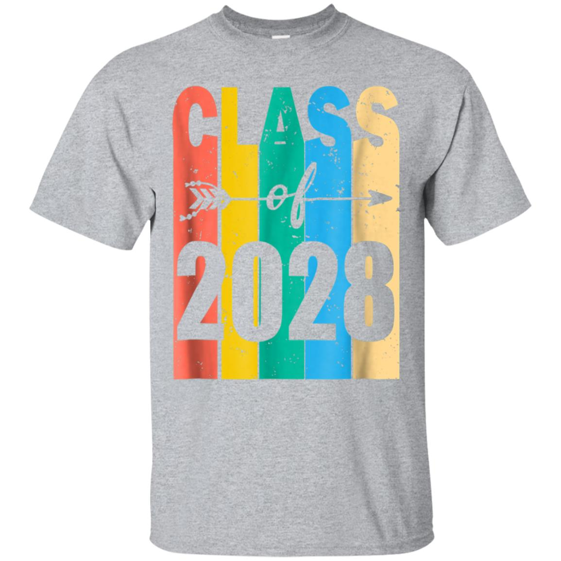 Retro Class of 2028 T Shirt 3rd Grade Back to School Tee 99promocode
