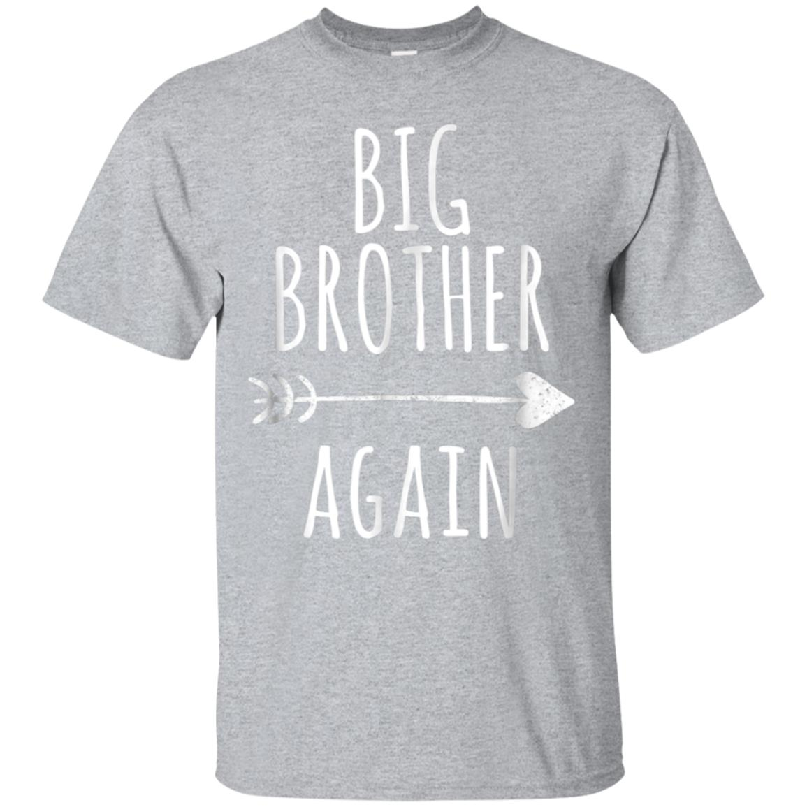 Big Brother Again Shirt for Boys with Arrow and Heart 99promocode