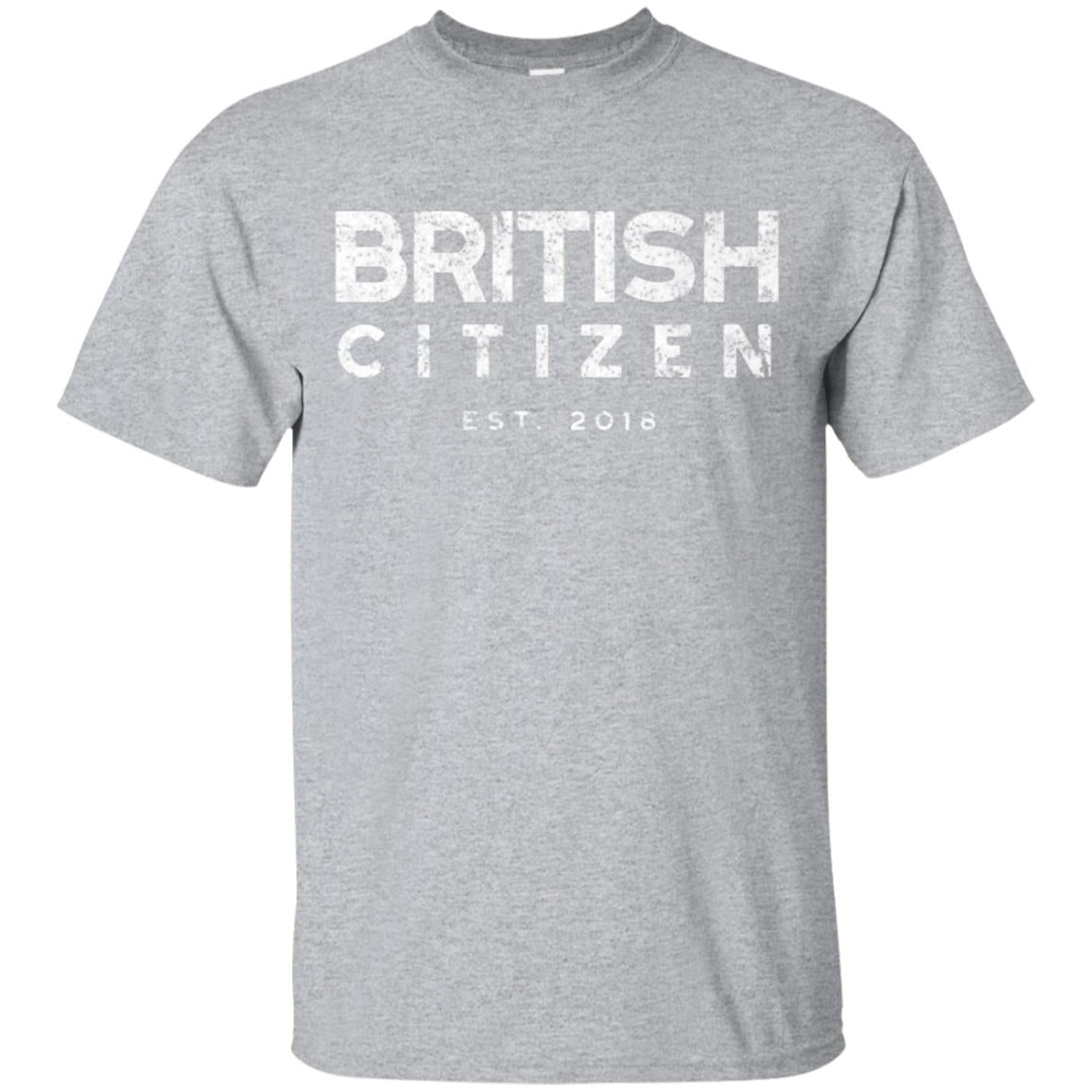 British Citizenship t-shirt, New Citizen Gifts 2018 99promocode