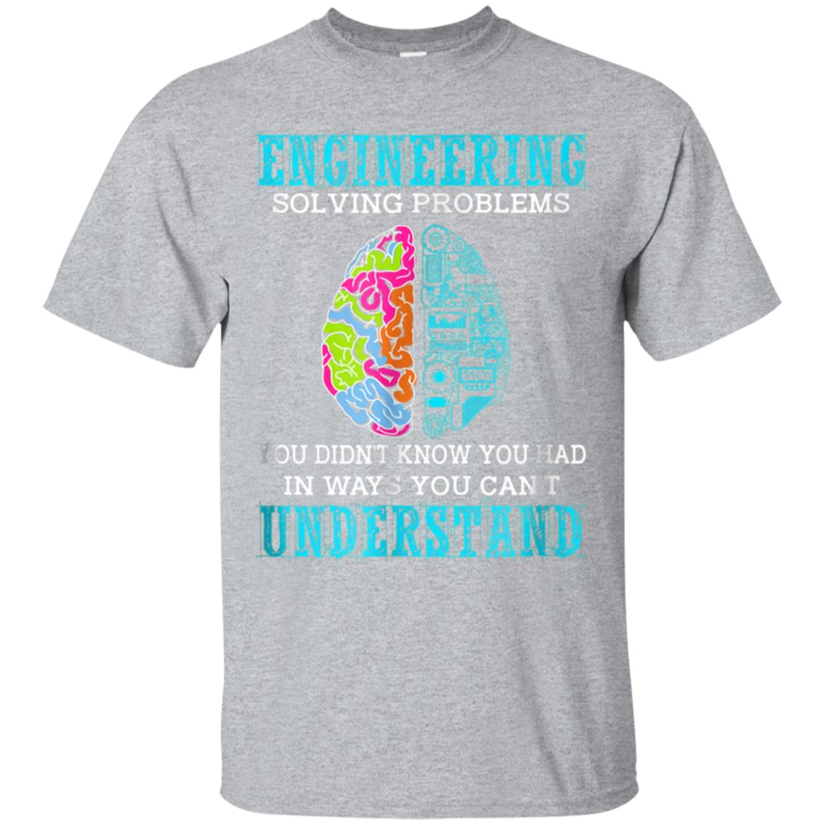 Solving Problems Funny Engineering T-shirt Engineer Gift 99promocode