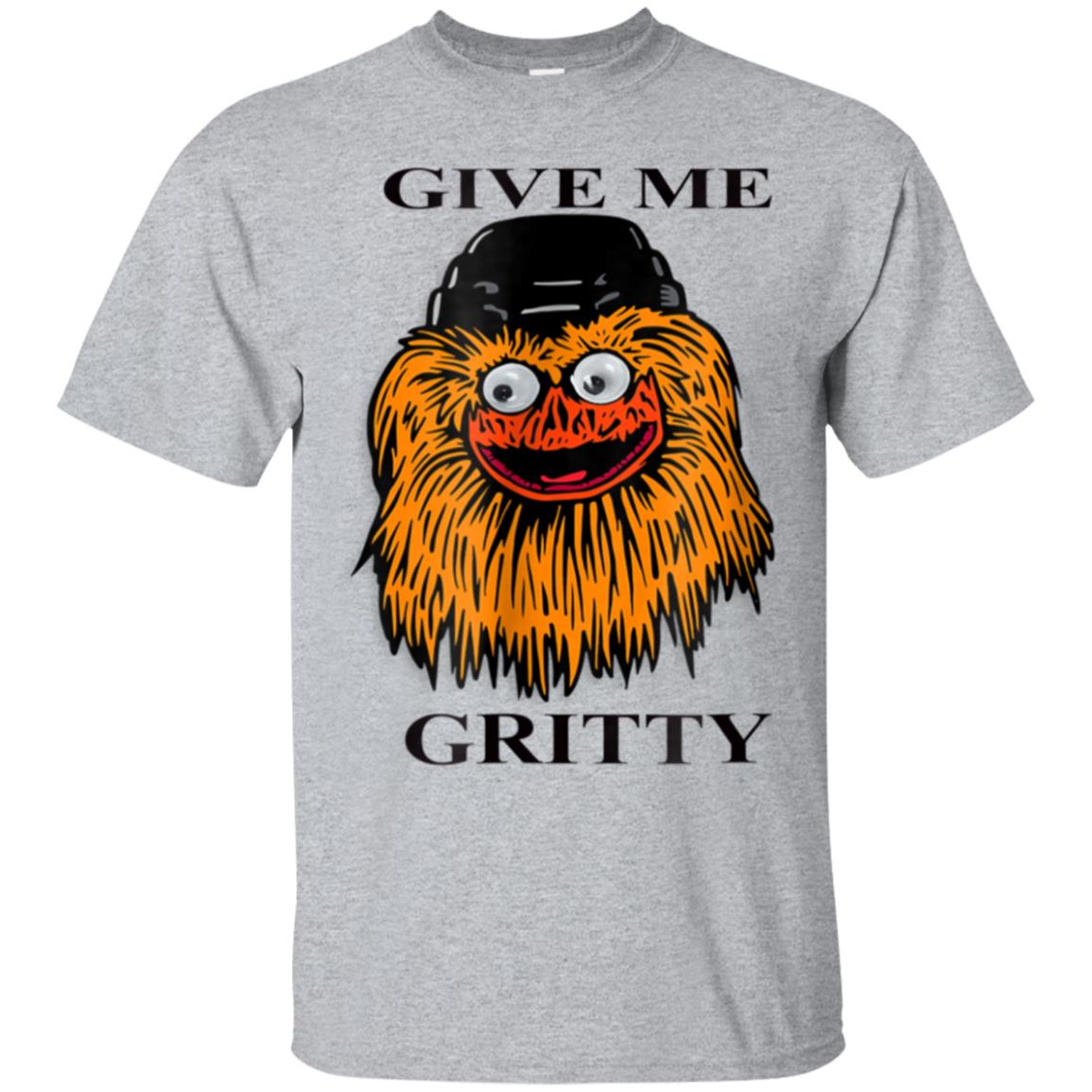 Funny give me gritty keep it gritty hockey t shirt