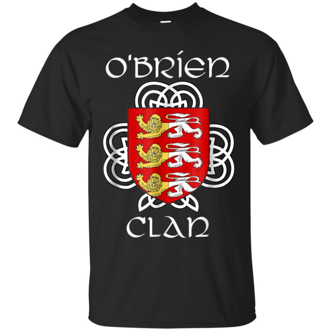 O'Brien Family Crest Coat of Arms T Shirt 99promocode