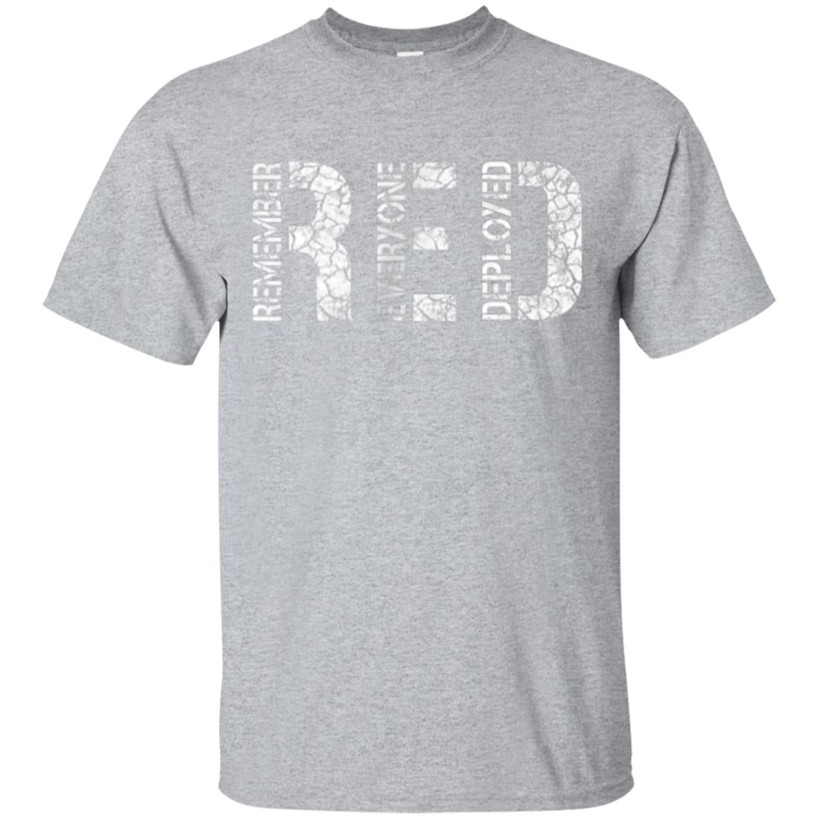 Red Friday Military Shirts, Remember Everyone Deployed Shirt 99promocode