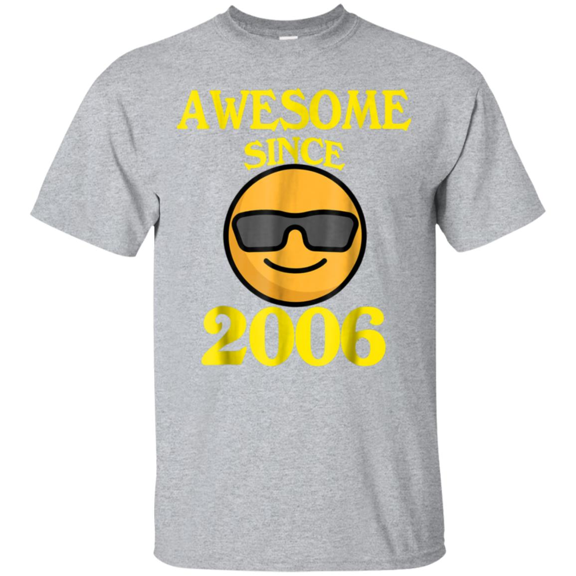 Awesome Since 2006 12th Years Old Shirt 12 Birthday Gift 99promocode