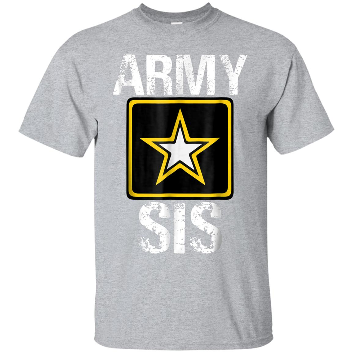 Proud US Army Sister Shirt, Proud Army Sister T shirt 99promocode