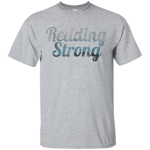 Redding Strong Shasta County California Mountain T-Shirt