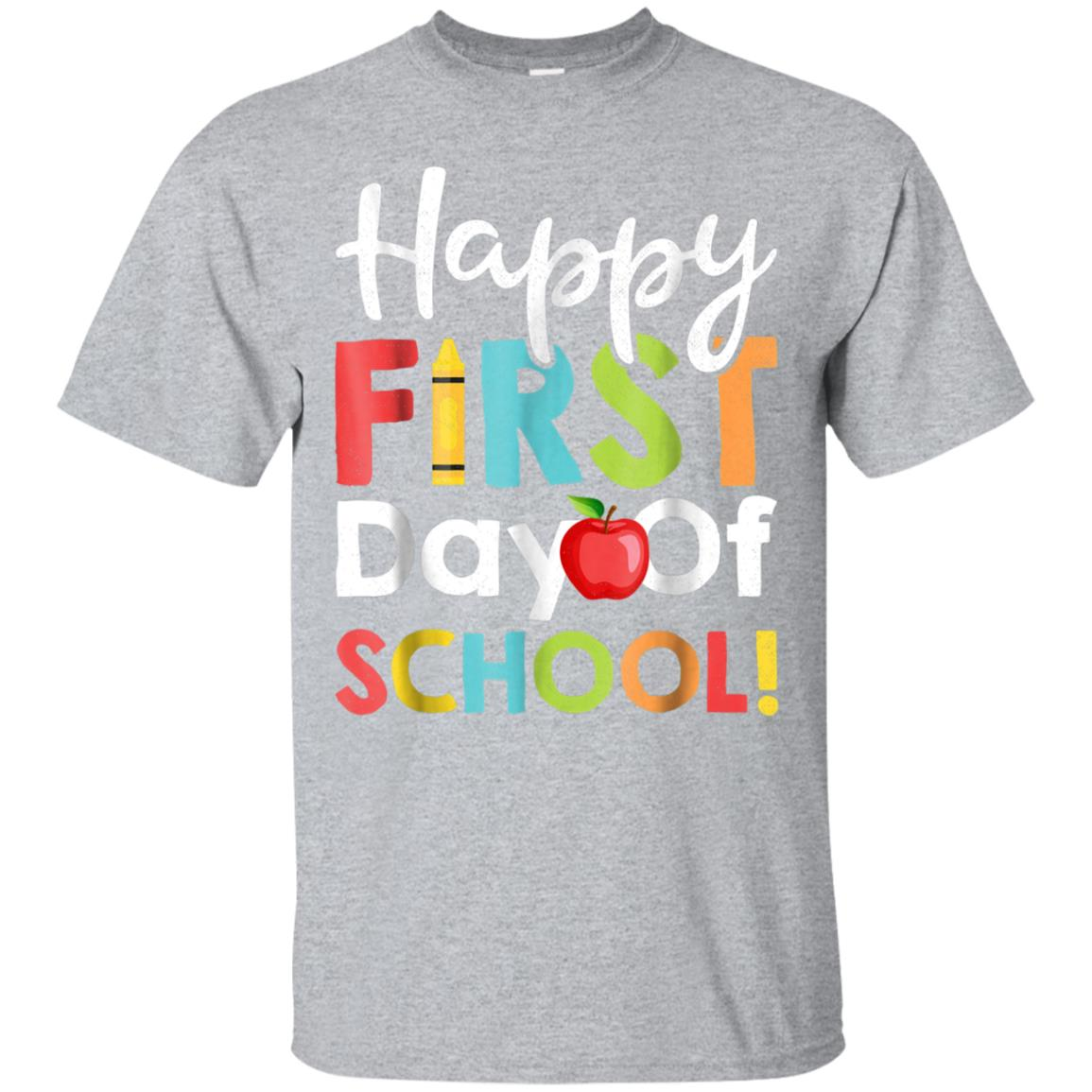 Happy First Day of School Shirt Teachers Students Parents 99promocode