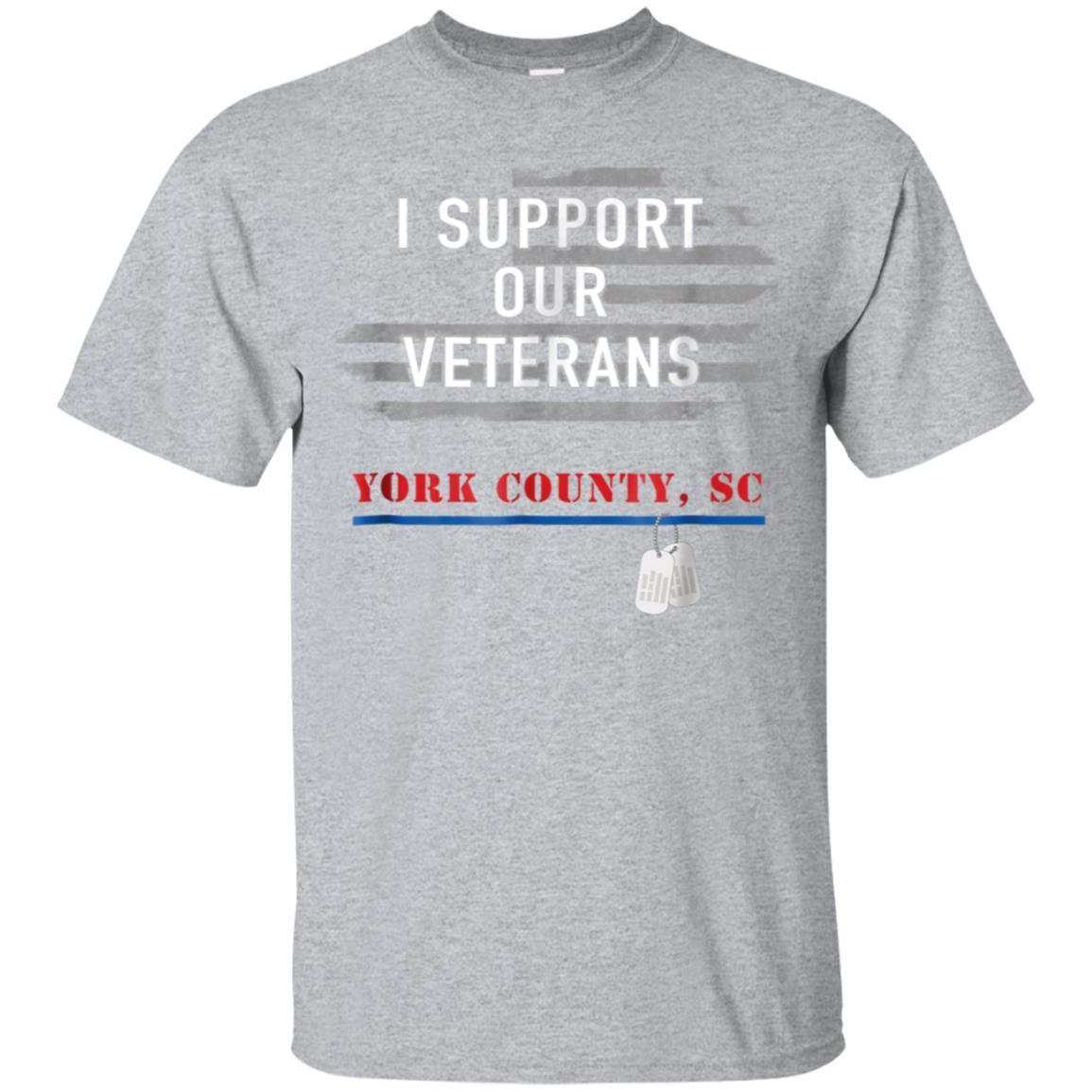 I Support Our Veterans York County SC T-Shirt 99promocode