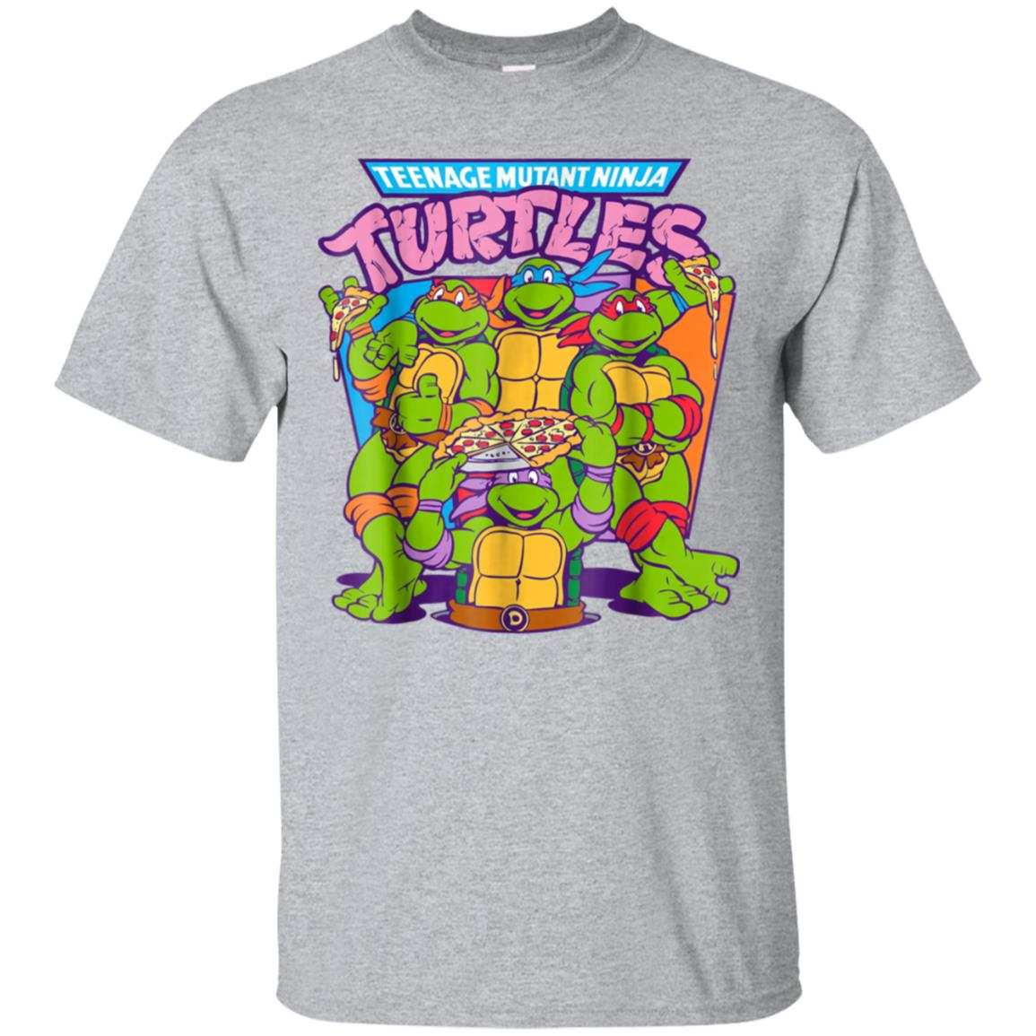 Teenage Mutant Ninja Turtles Pizza & Smiles T-Shirt 99promocode