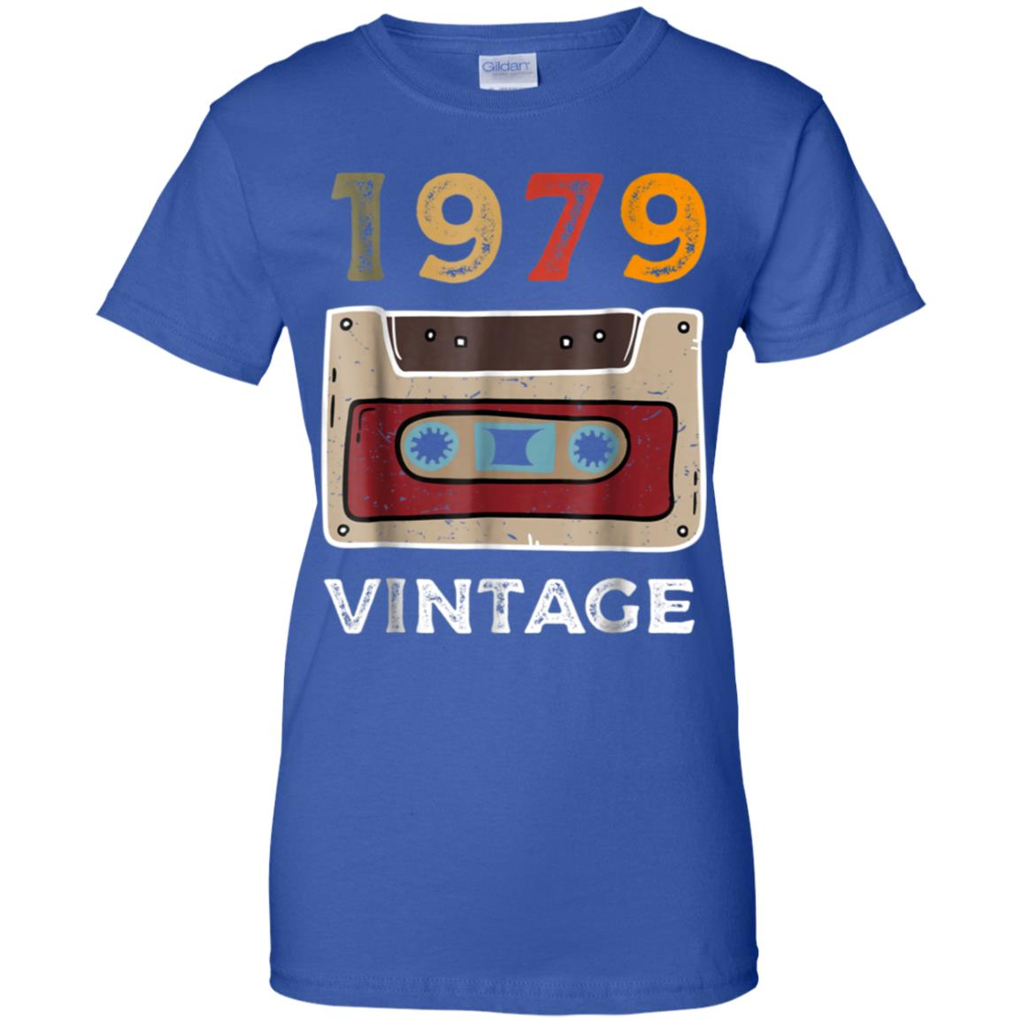 40th Birthday Gift Vintage 1979 For Men And Woman T Shirt