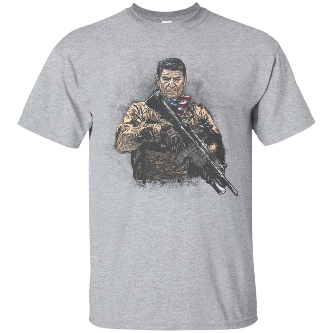 Presidential Soldiers Ronald Reagan T-Shirt 99promocode