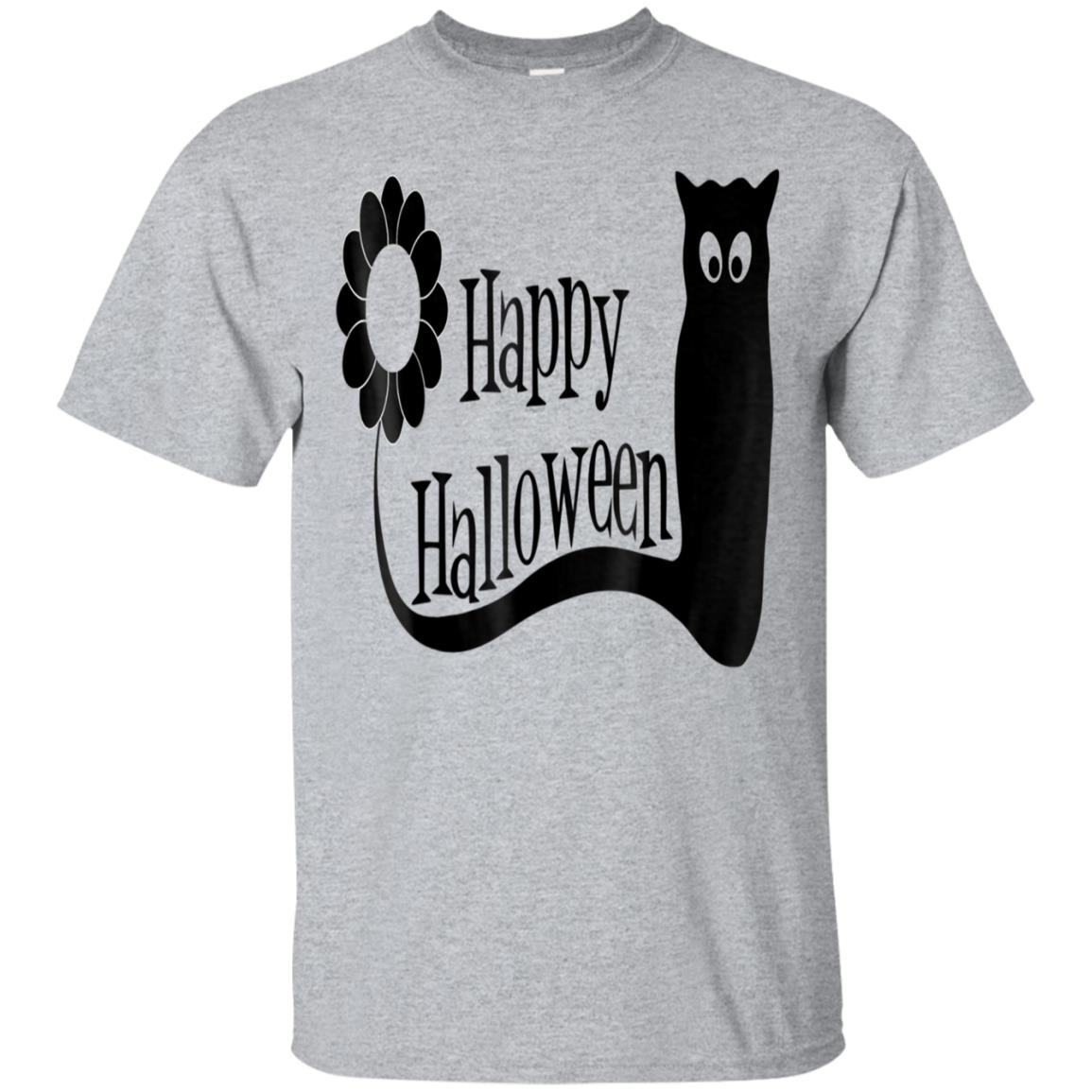 91ccbcca Awesome happy halloween 2018 t shirt with black cat ramah gift ...