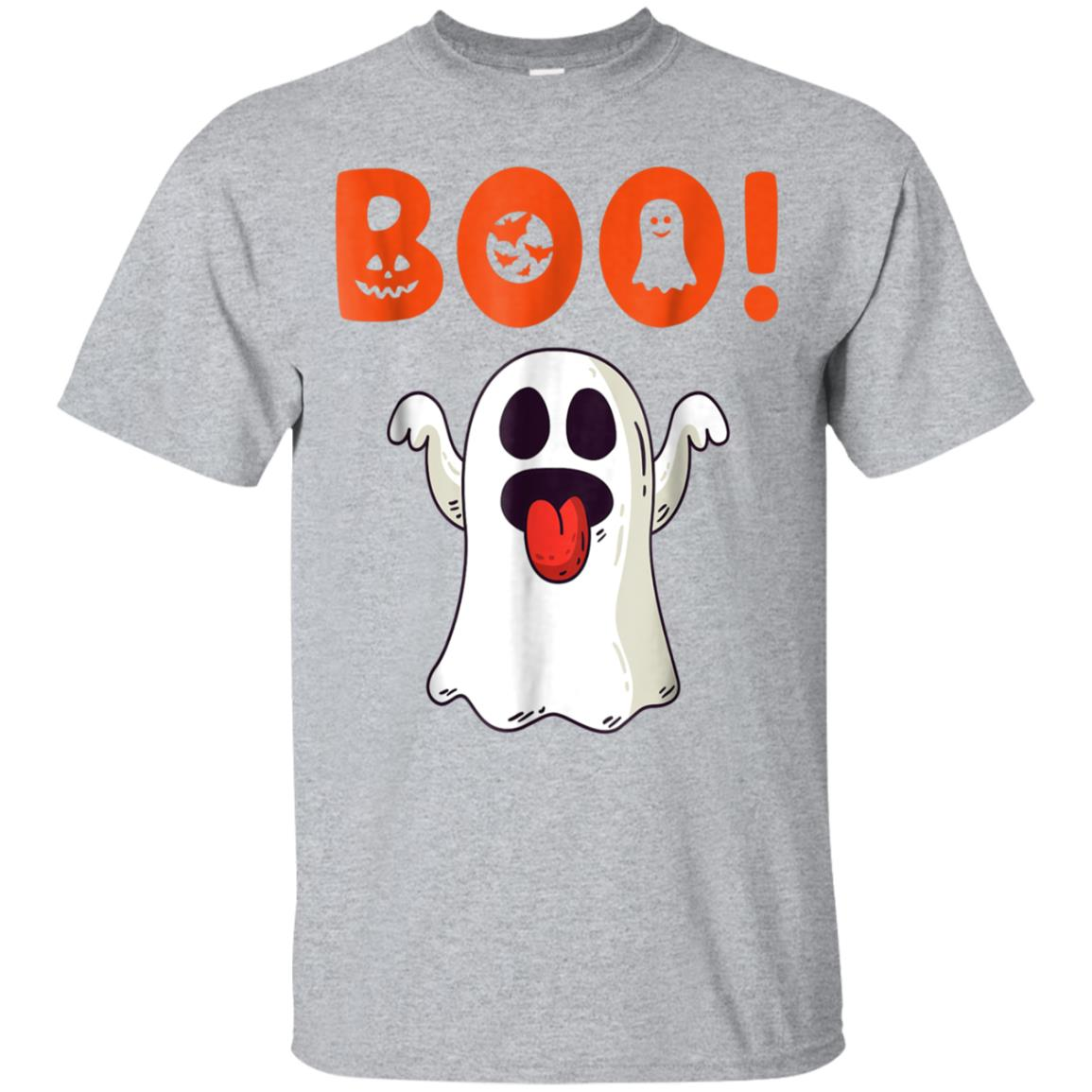 Funny Boo Ghost Tshirt For Halloween Day 99promocode