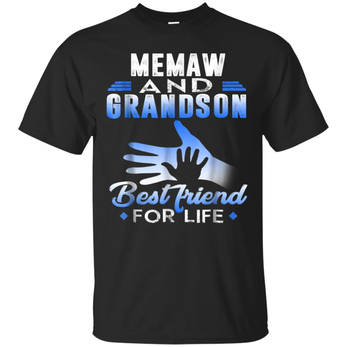 Funny Memaw and Grandson Best friends for life T-Shirt 99promocode