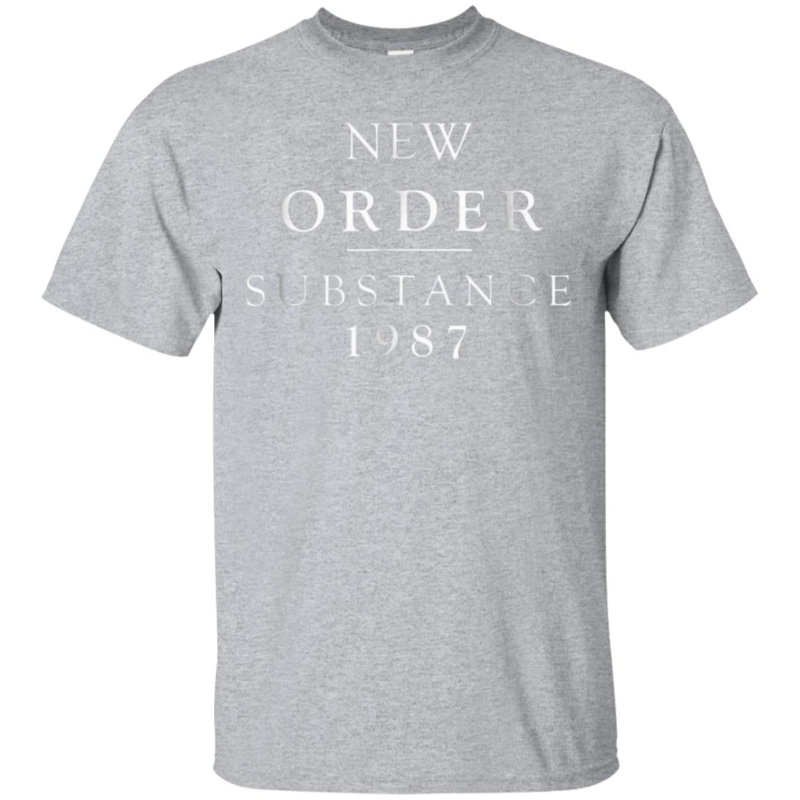 New Order Substance 1987 Mens T shirt 99promocode