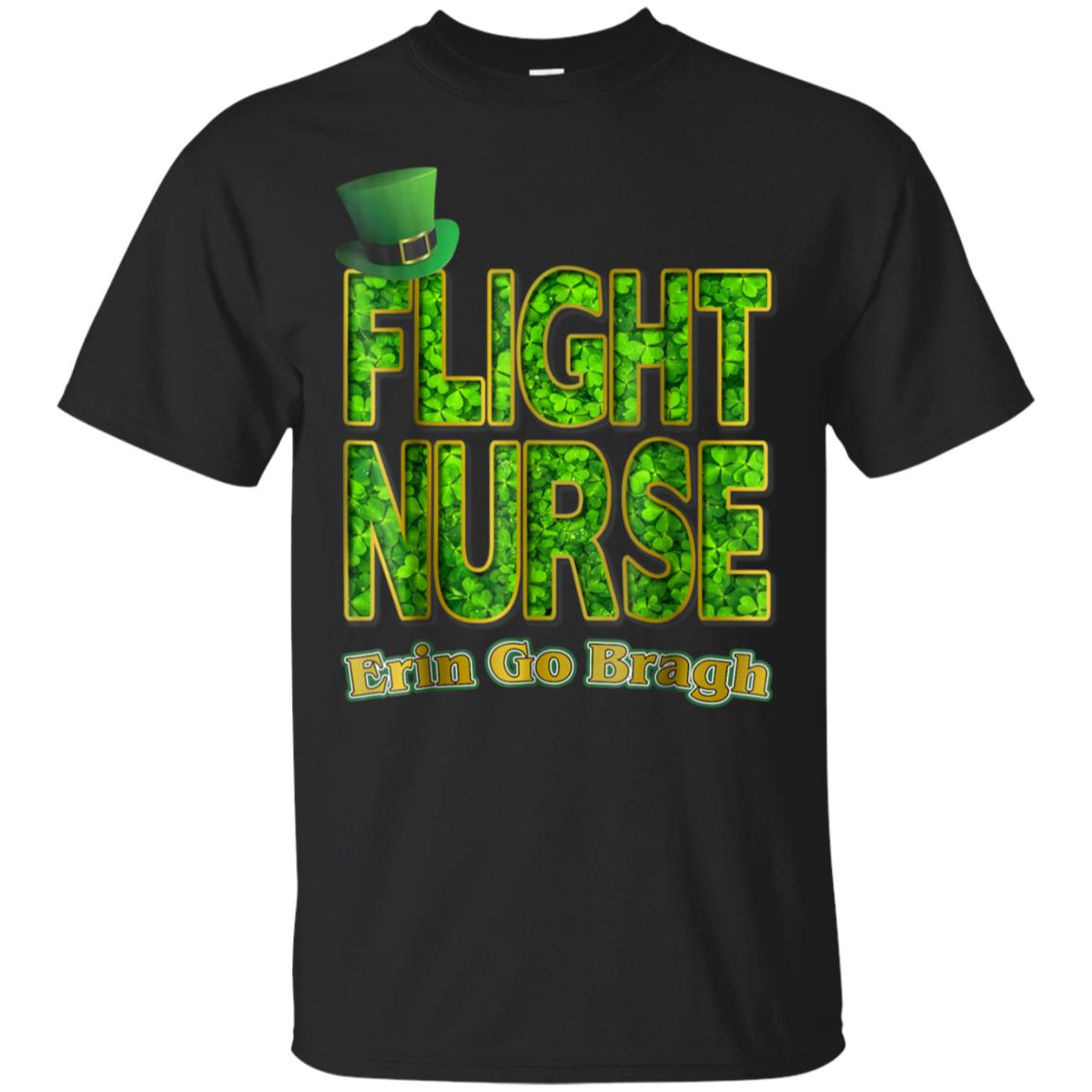 Nurses Shamrock Flight Nurse St. Patrick's Day T-Shirt 99promocode
