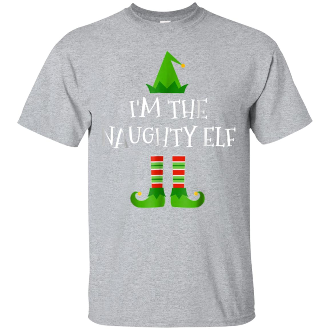 I'm The Naughty Elf Matching Family Group Christmas T Shirt 99promocode