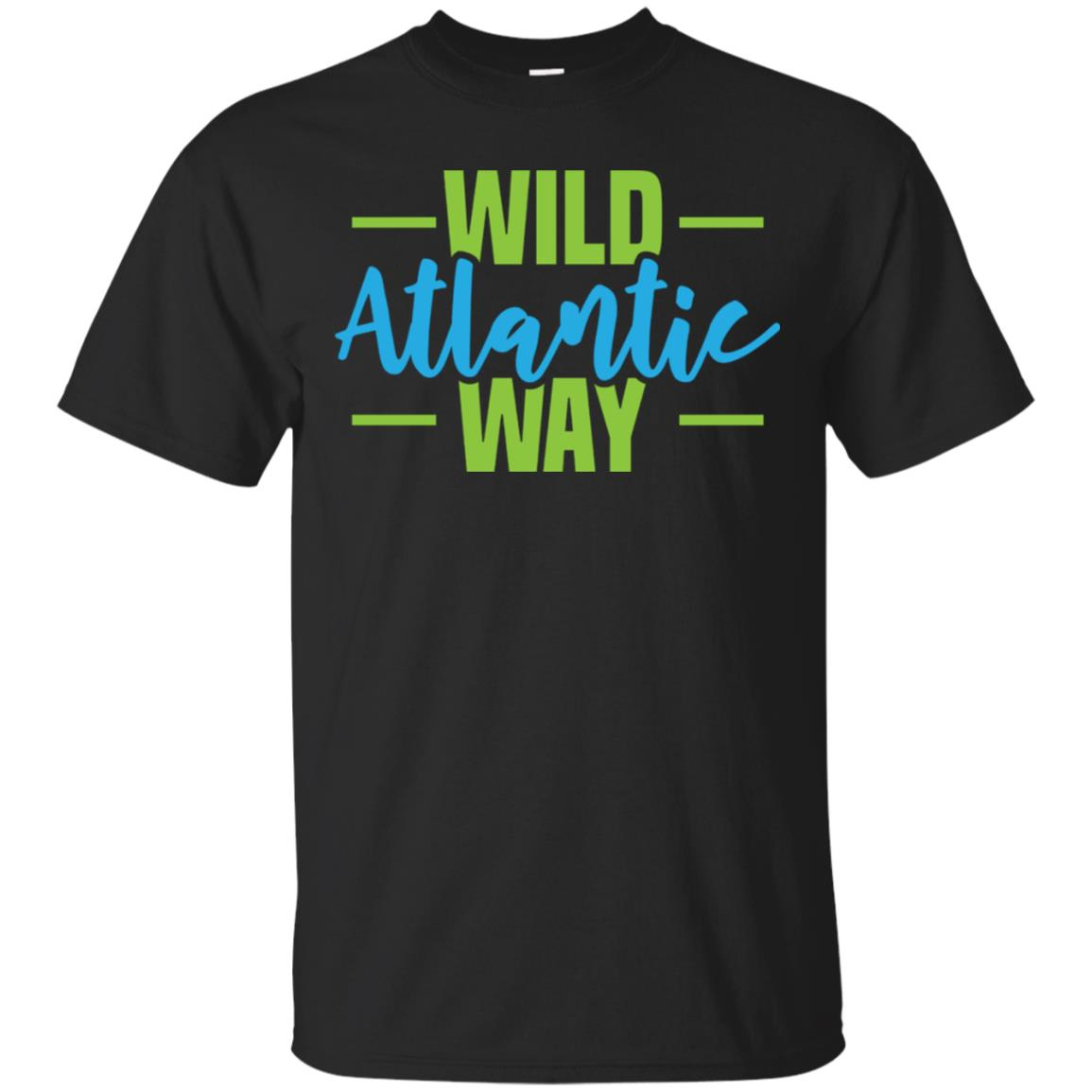 Wild Atlantic Way West of Ireland T-Shirt 99promocode