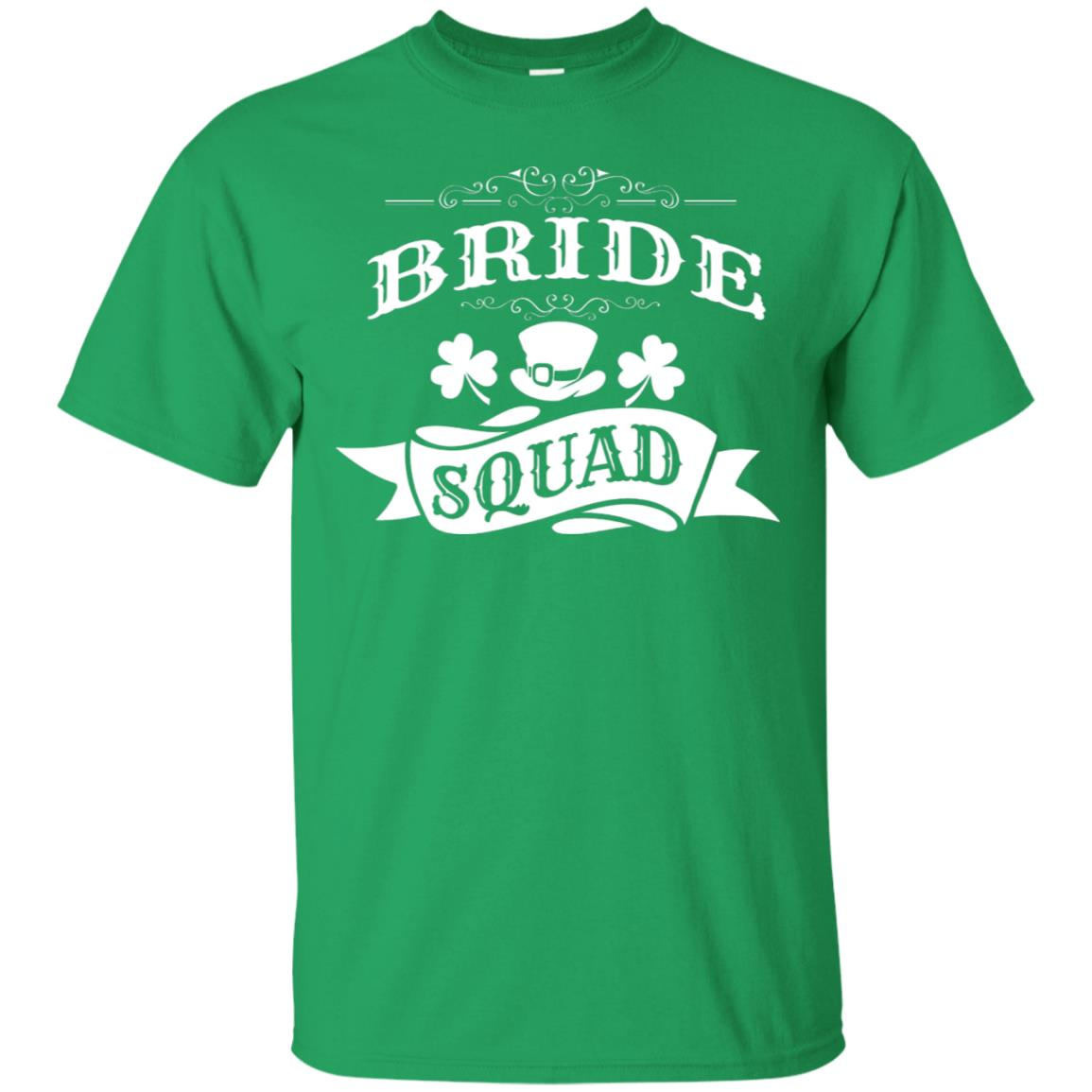 626f749a6 Awesome bride squad st patrick's day bachelorette party t shirt ...