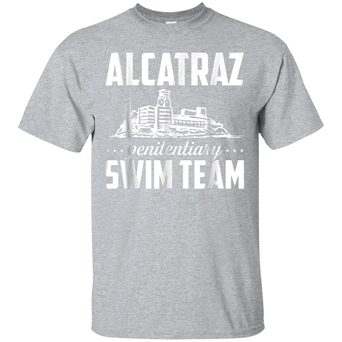 Alcatraz Penitentiary Swim Team - San Francisco T-Shirt 99promocode