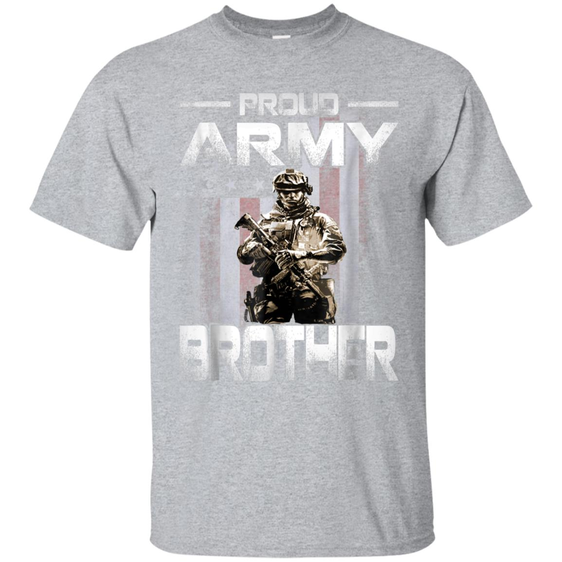 9dc0d06a Awesome proud army brother shirt us military family gift t shirt ...