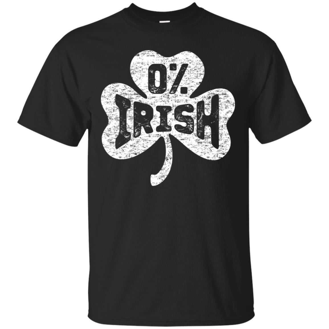 0% Irish Vintage St. Patricks Day T Shirt Men Women Clothes 99promocode