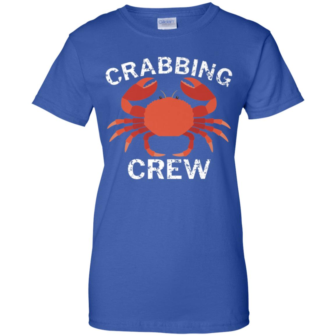 ad945d540 Awesome crabbing crew funny crab fishing t shirt - 99promocode