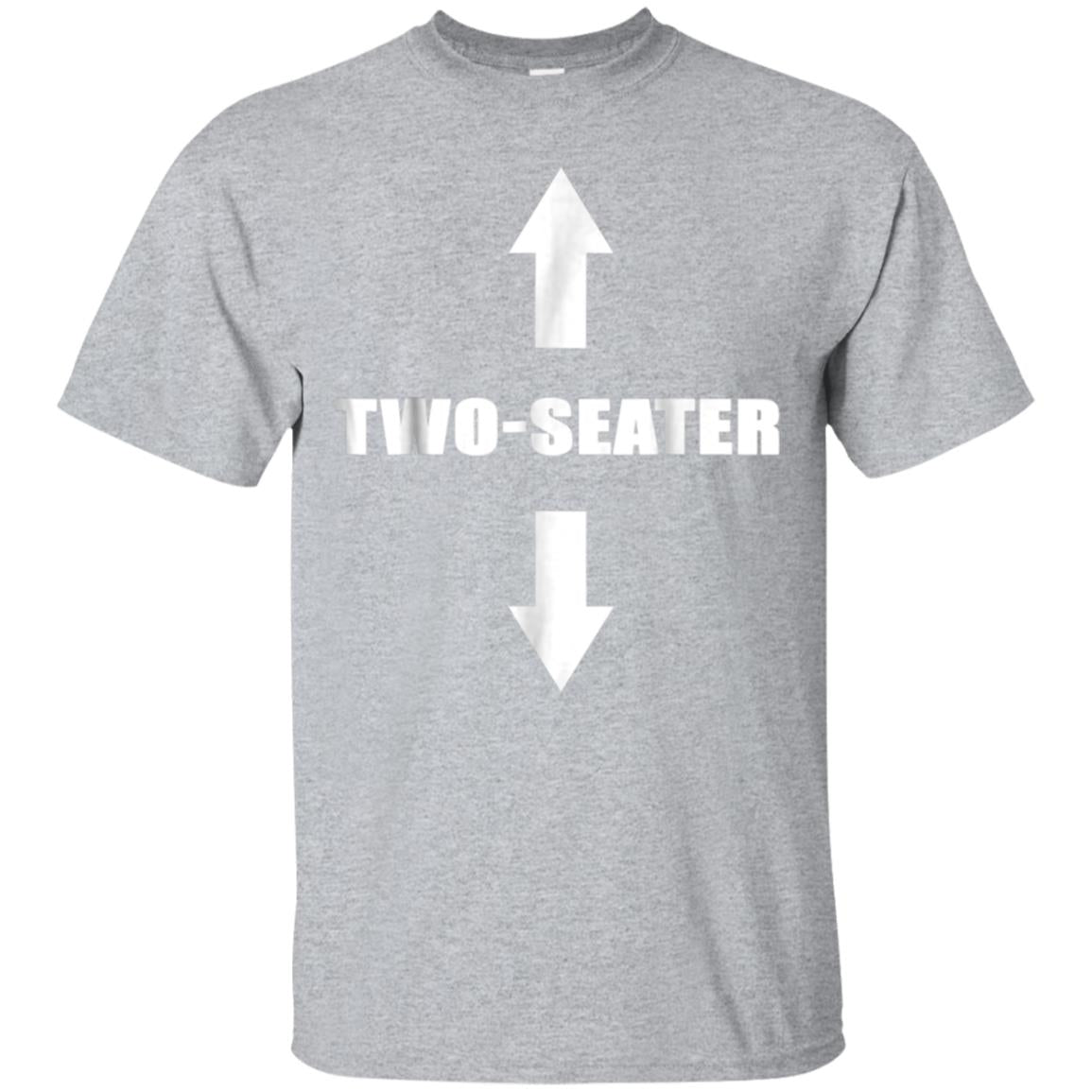 Two Seater T-Shirt  Funny Gag Gift Dad Joke Tee 99promocode