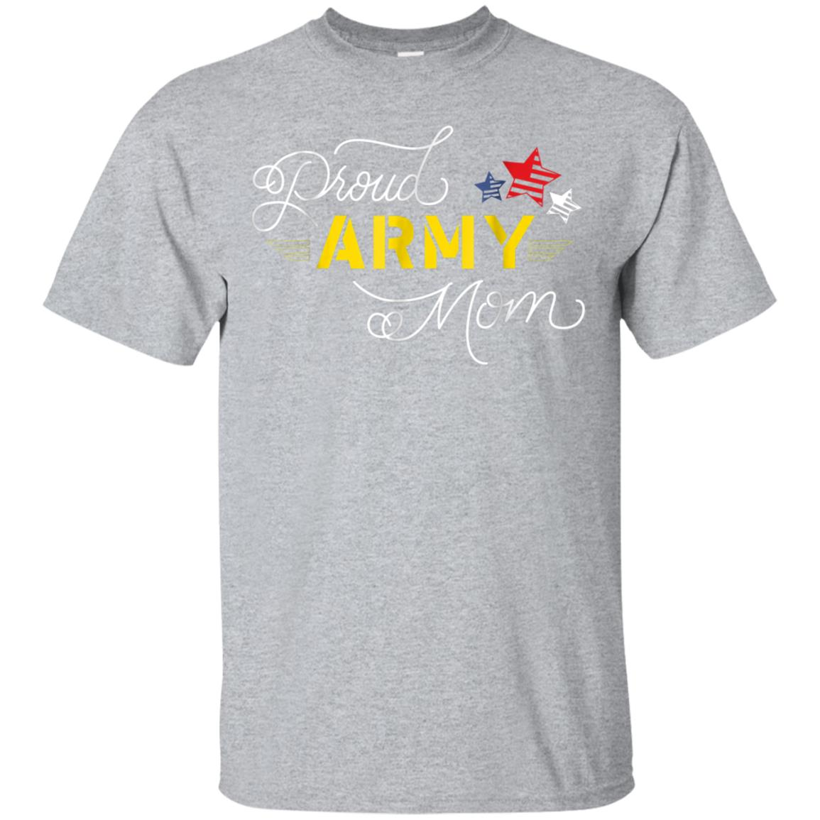 Proud US army mom Tshirt for women  Military family 99promocode