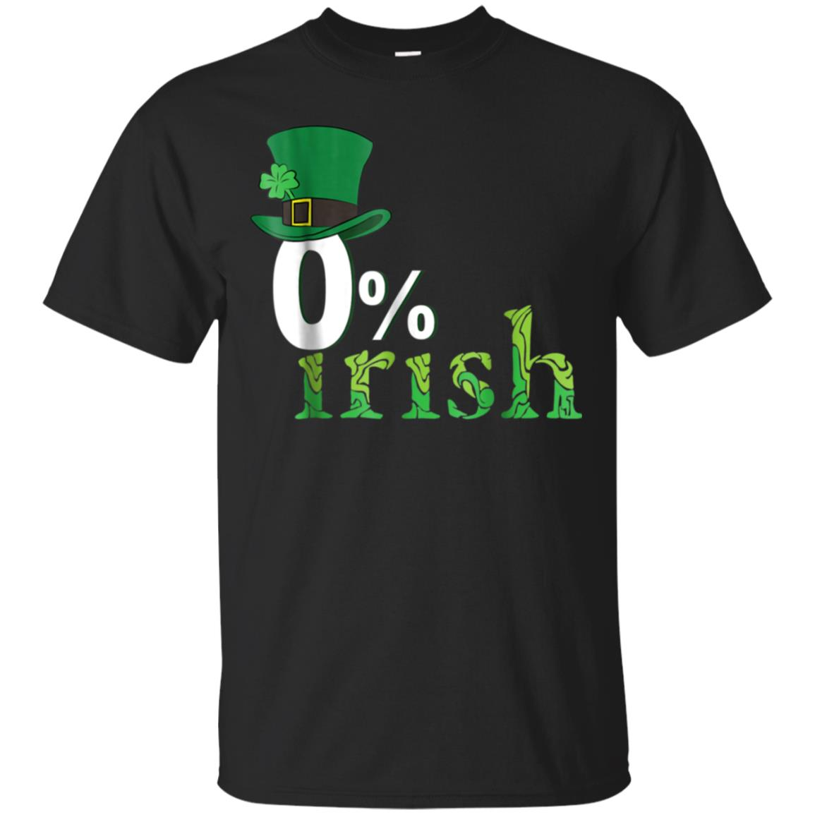0% Irish T-shirt Funny Clover St.Patrick's Day Gift Idea 99promocode