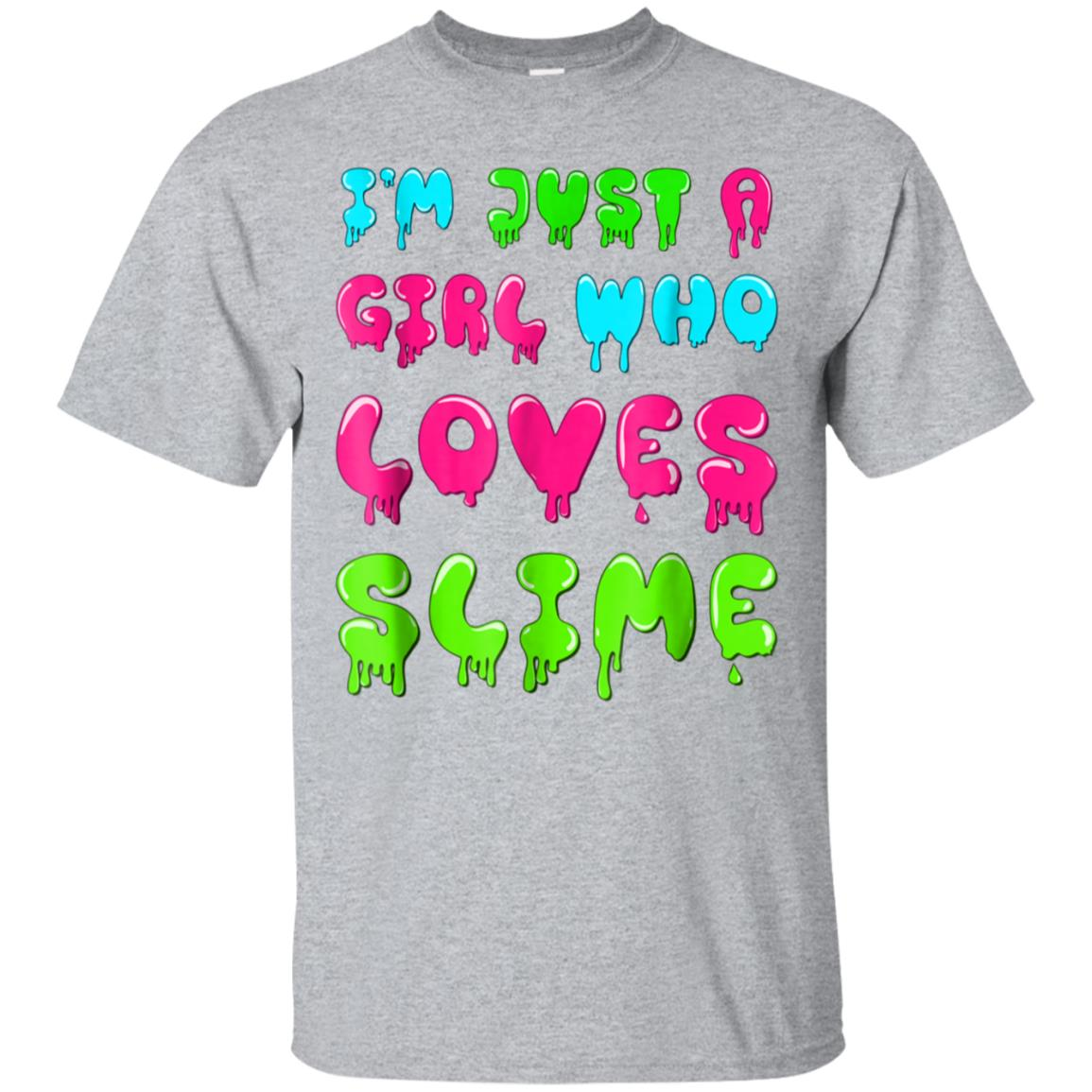 Slime Shirt - Just a Girl Who Loves Slime 99promocode