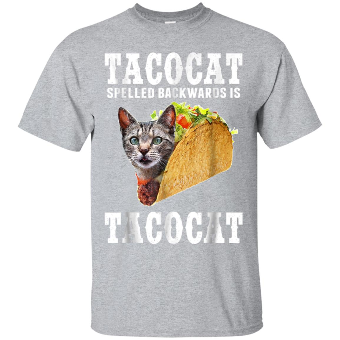 Tacocat Spelled Backwards is Tacocat Funny Cat Shirt 99promocode