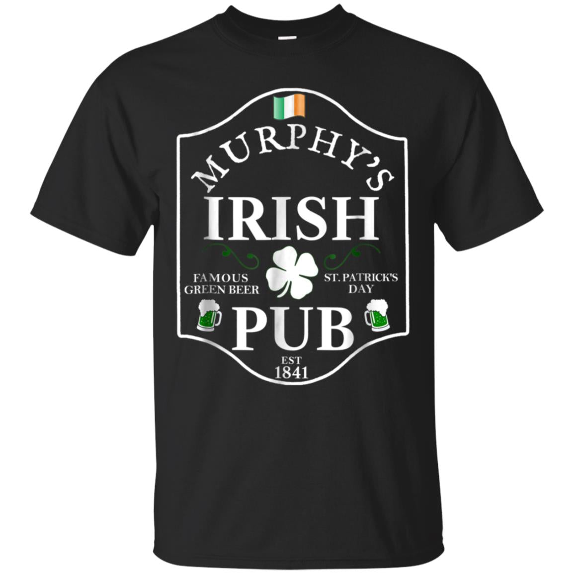 MURPHY'S IRISH PUB St. Patrick's Day Personalized T Shirt 99promocode