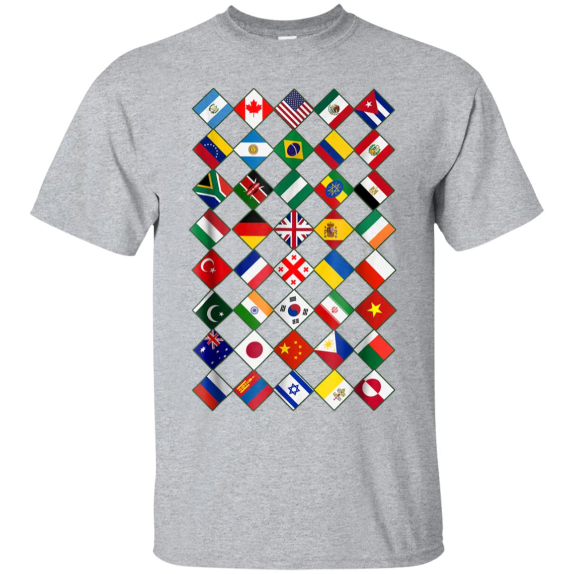 Flags of the Countries of the World,International Gift Shirt 99promocode