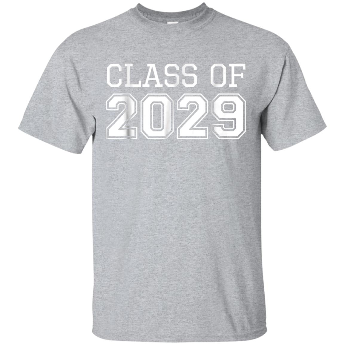Class Of 2029 For Future Graduates T-Shirt 99promocode