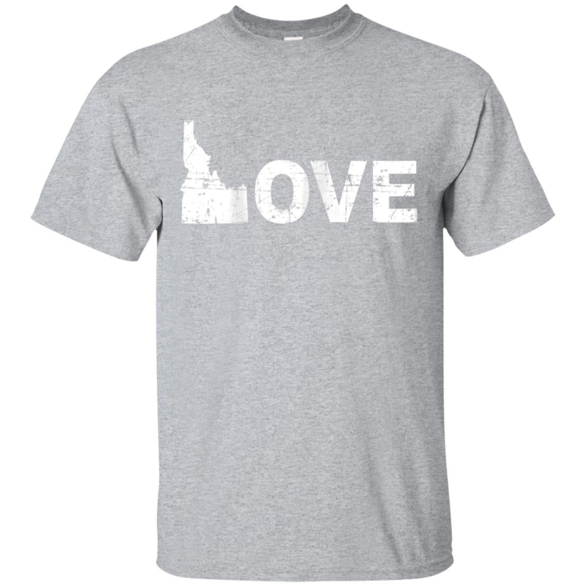 Womens I Love Idaho  Boise  Potato  T-Shirt  Gift Idea 99promocode