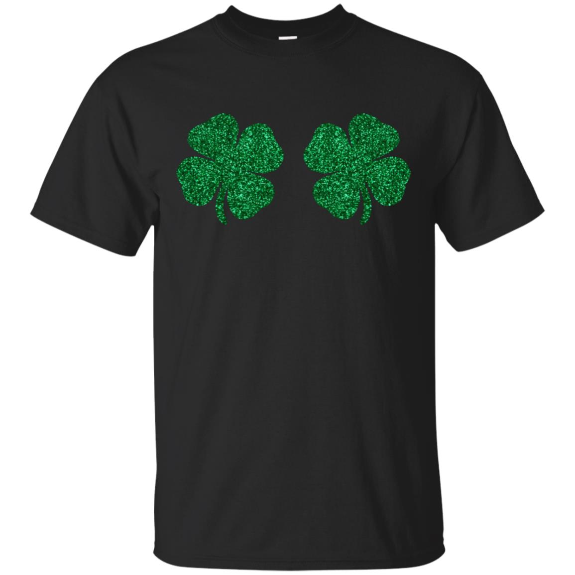 Shamrock Boobs T-Shirt 99promocode