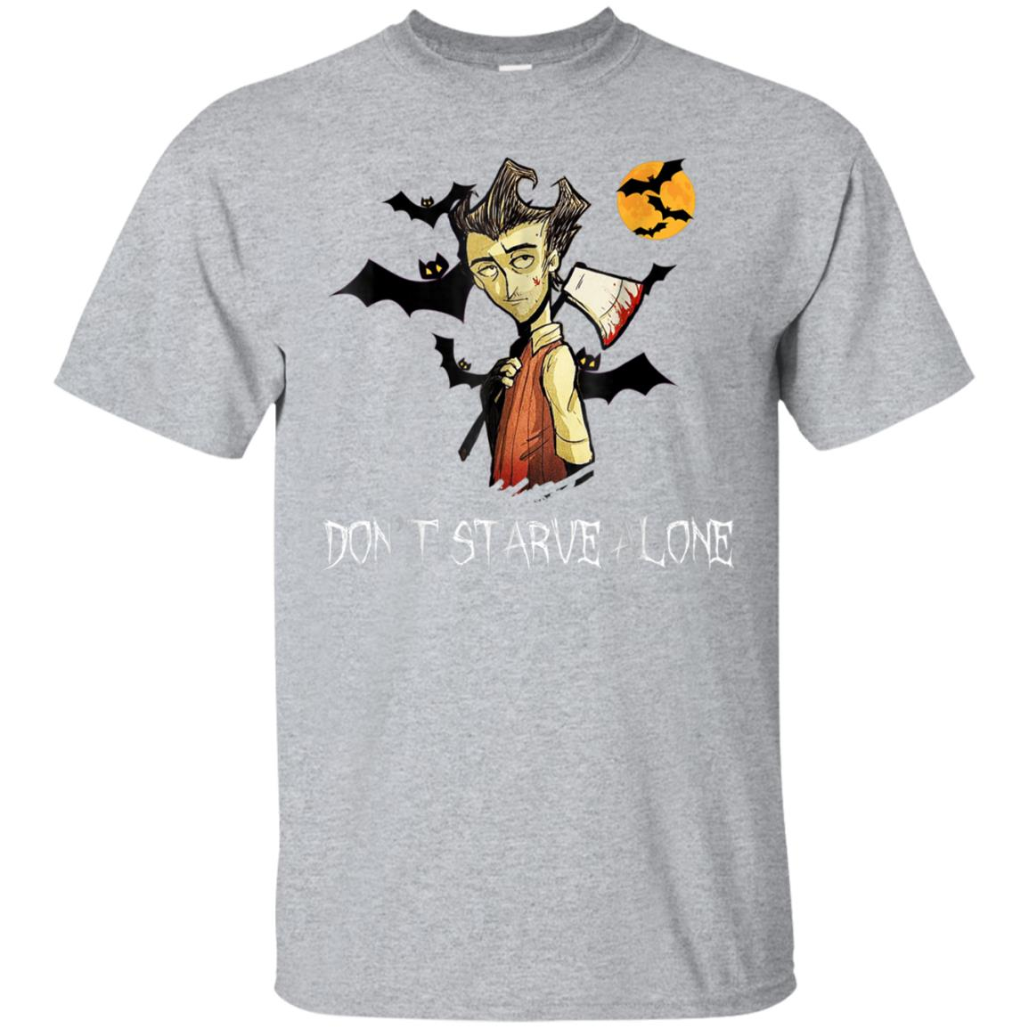 Don't Starve Alone in The Halloween Night t-shirt 99promocode