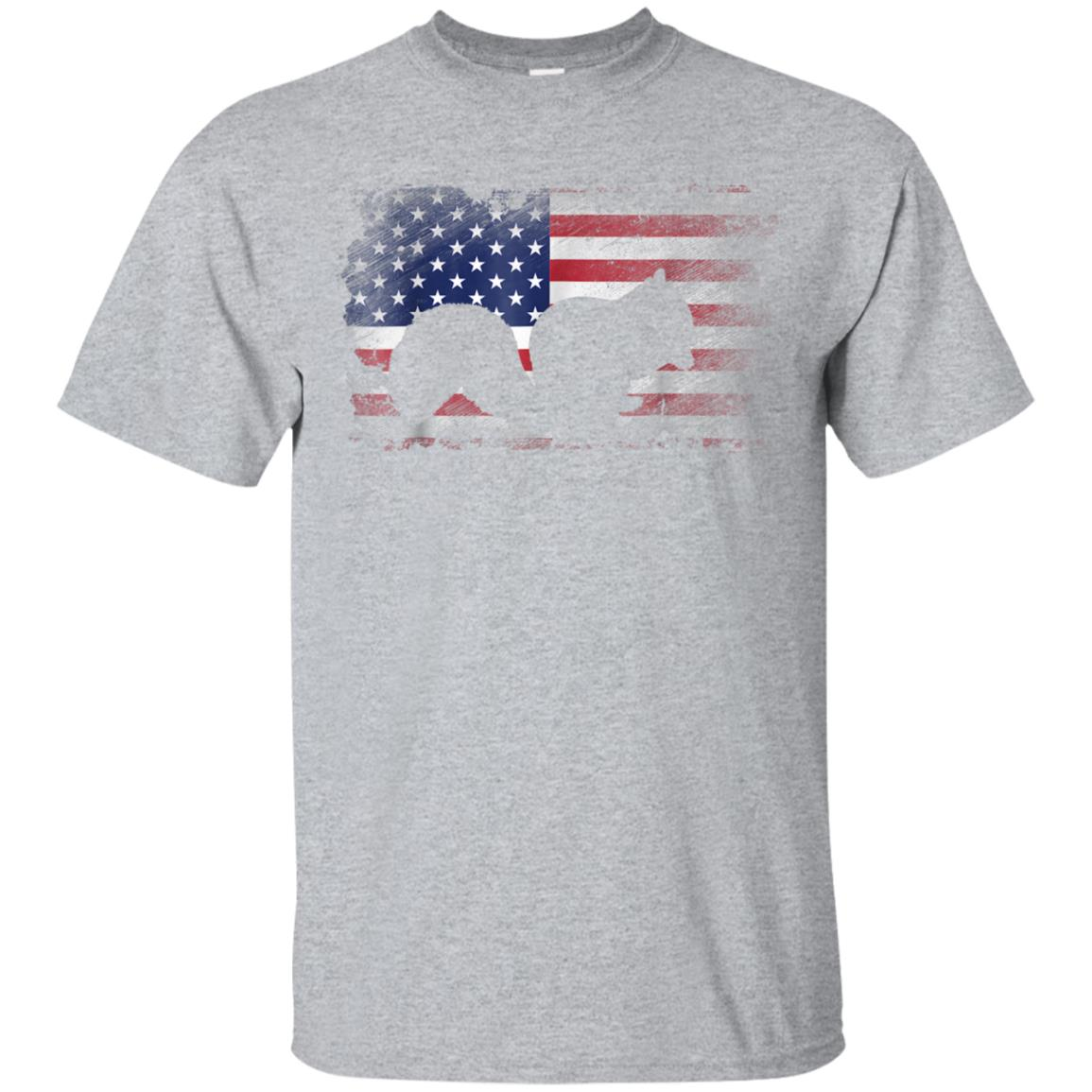 Squirrel T Shirt American Flag USA Patriotic Squirrel Gift 99promocode