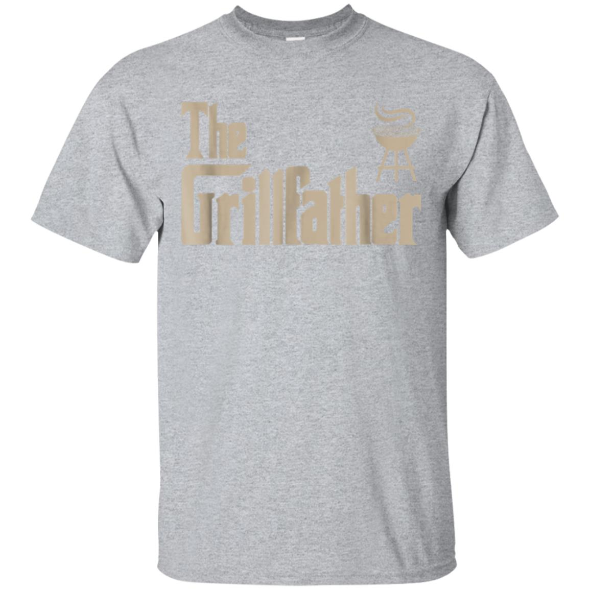Mens Great Dad Gifts The Grillfather Men Tee Shirts 99promocode