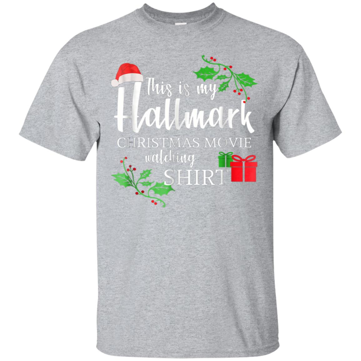 Funny This is my Hallmark-Christmas-Movie Watching T-shirt 99promocode