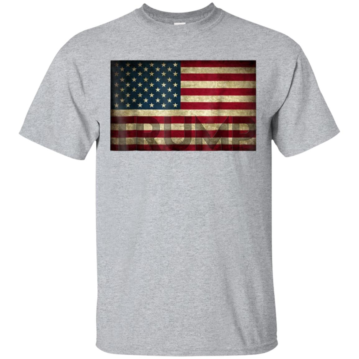 Donald Trump American Flag Shirt 2020 99promocode