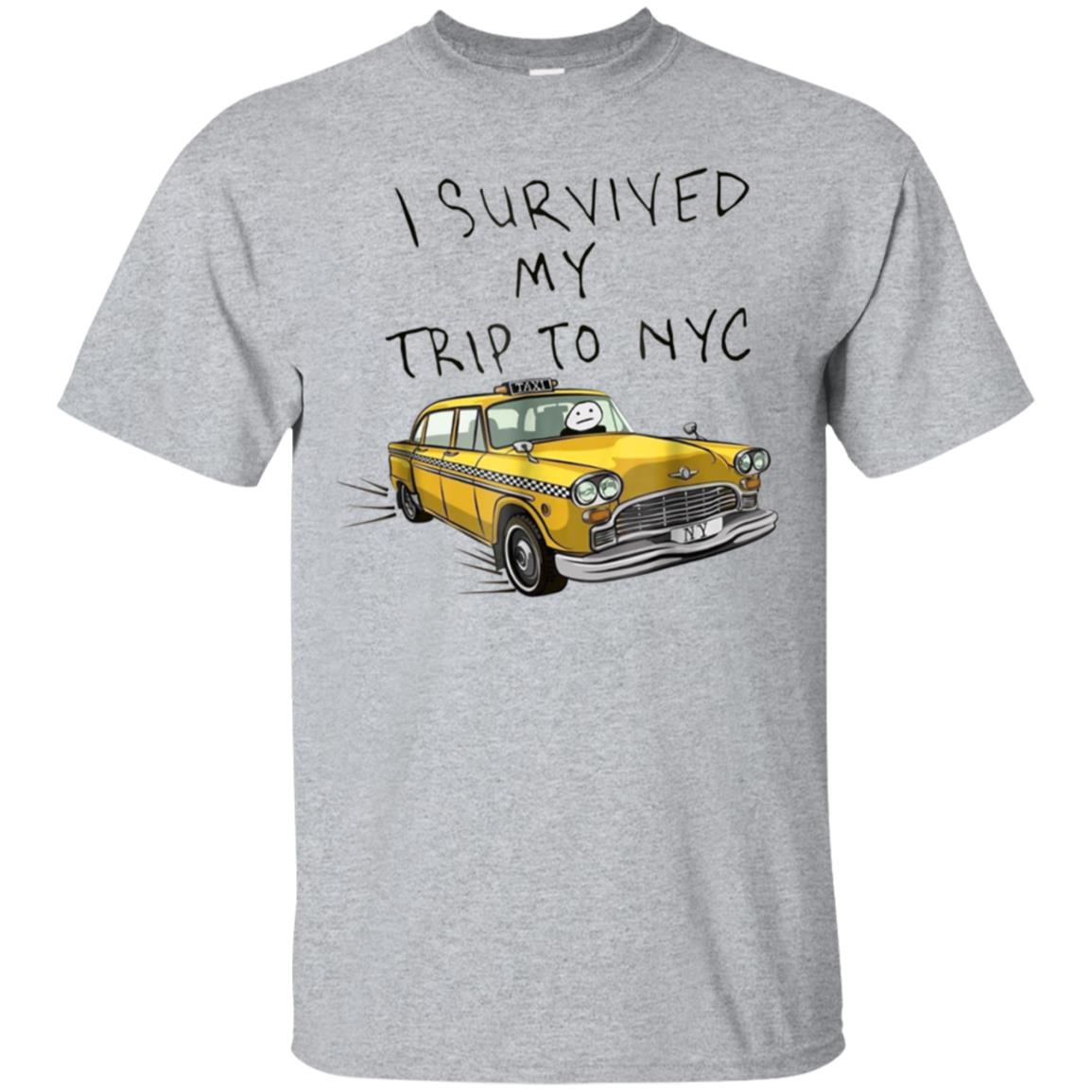 I survived my trip to NYC tshirt 99promocode