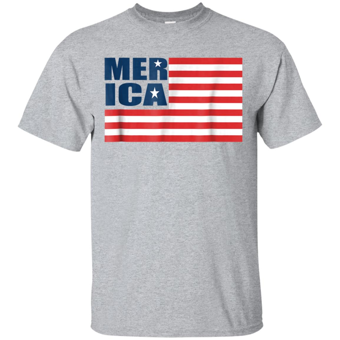 Merica American Flag 4th of July Patriotic t shirt for men 99promocode