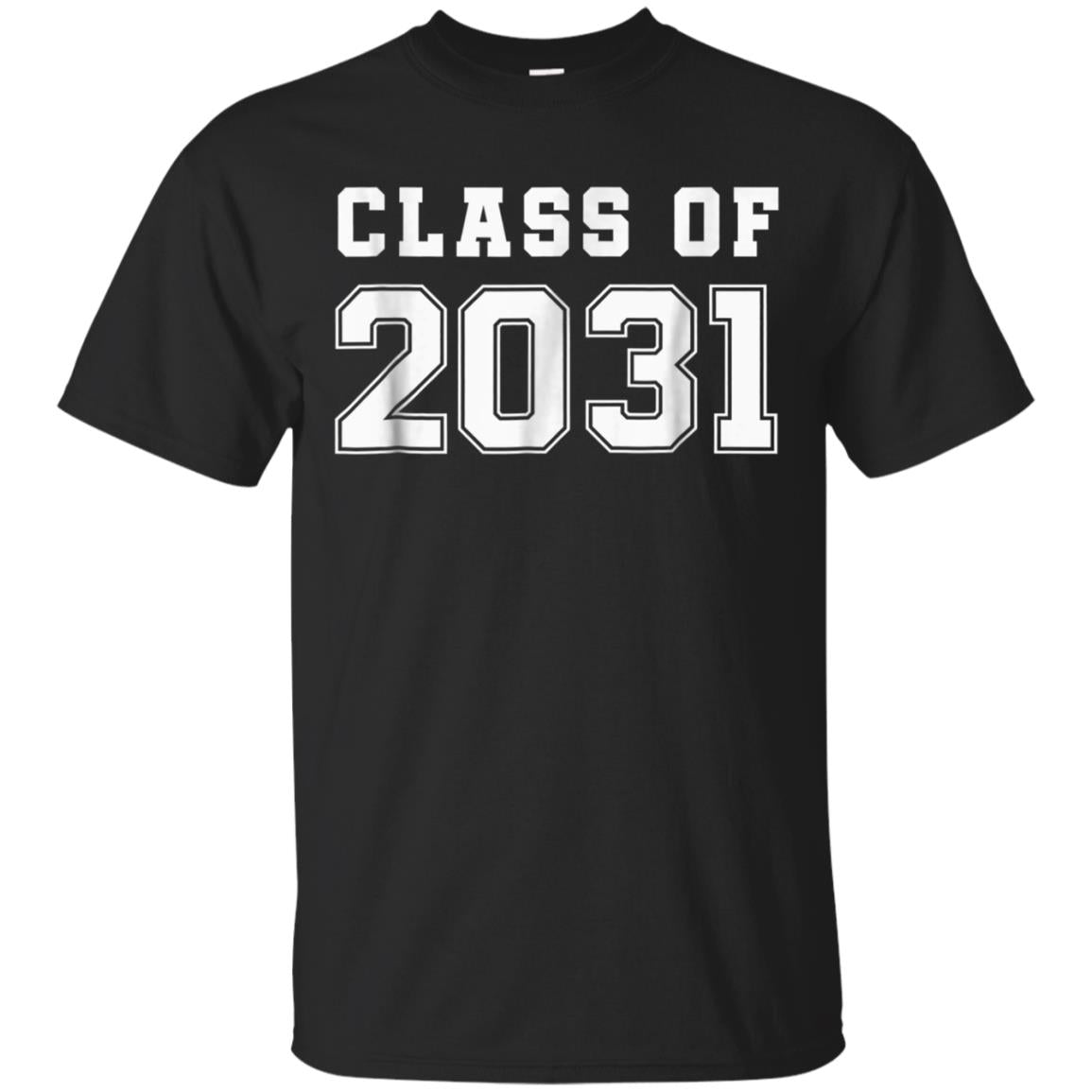 Class of 2031 T-Shirt First Day of School Grow With Me Shirt 99promocode
