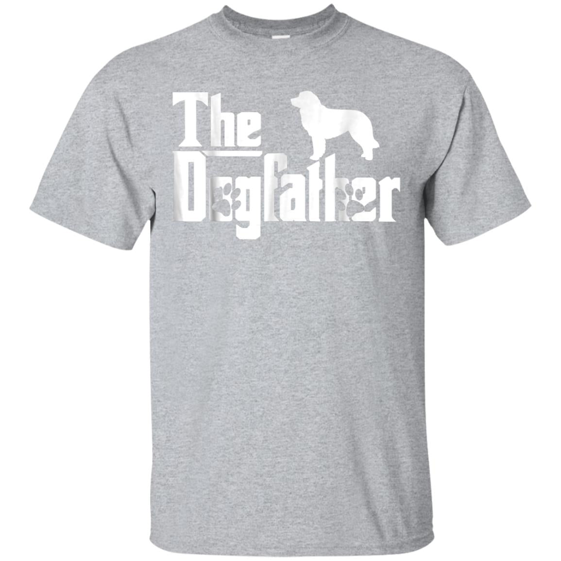 The Dogfather Bernese Mountain Dog Funny Dog Owner Shirt 99promocode