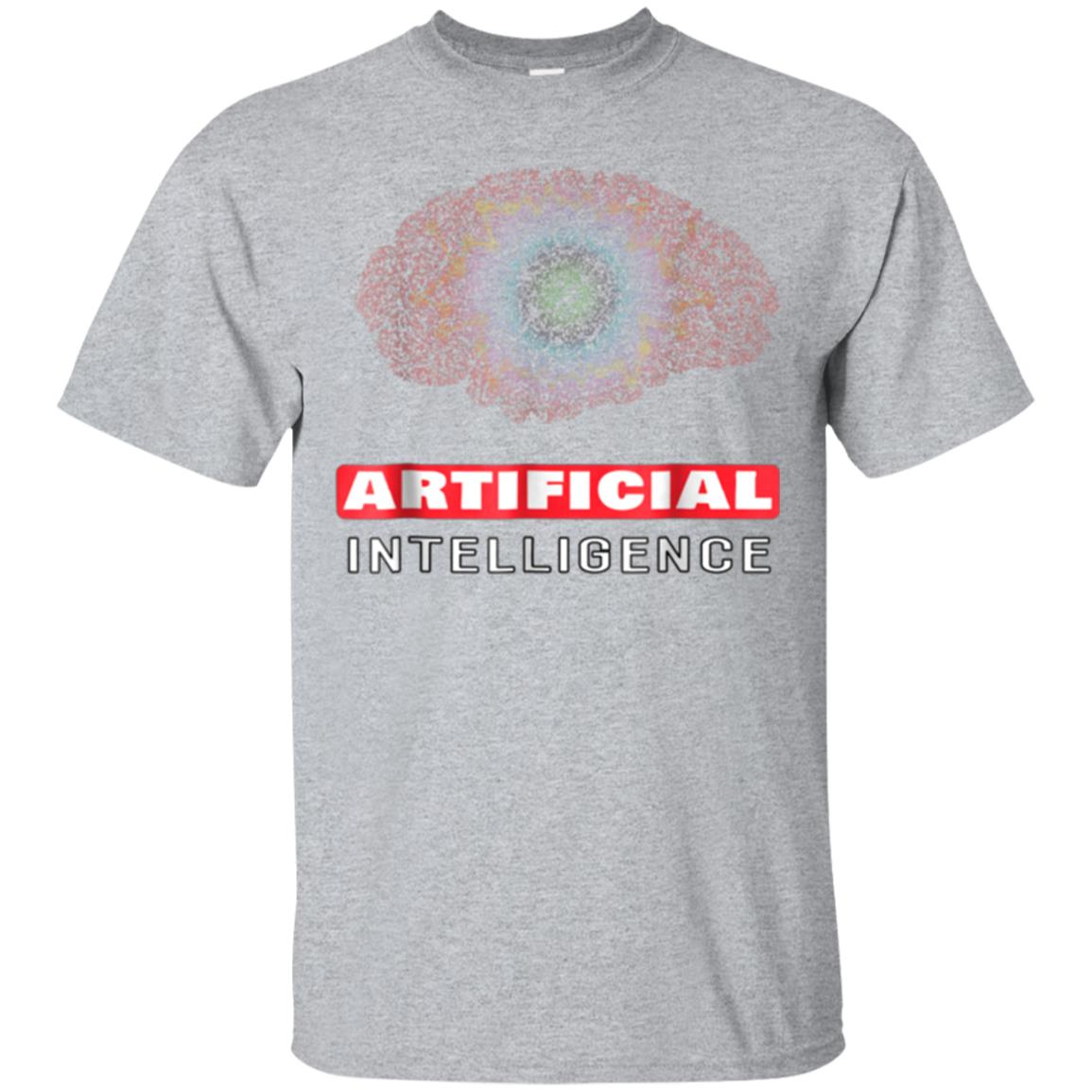 Mens Artificial Intelligence - Technology Robot T-Shirt For Me 99promocode